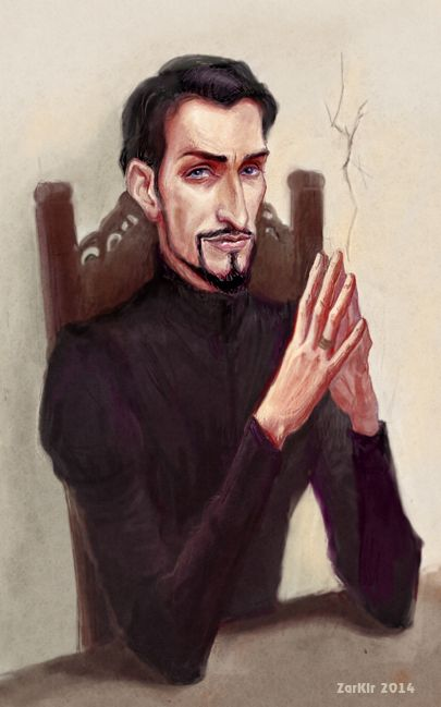 Portrait of Vetinari by ZarKir on deviantART