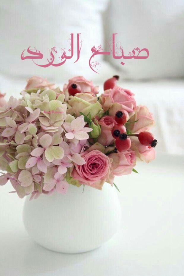 صباح الورد Good Morning Arabic Morning Wish Beautiful Morning