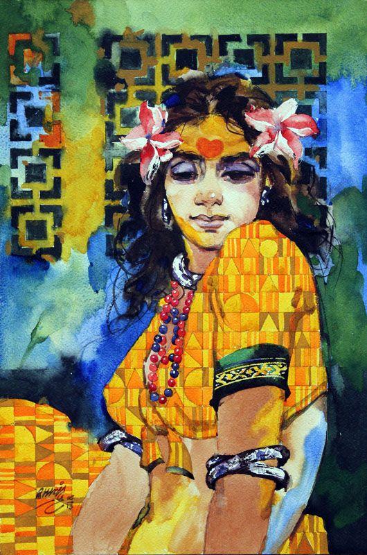 Ram Kharatmal #IndianArt #Art #Artist