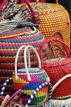 wicker mexican baskets