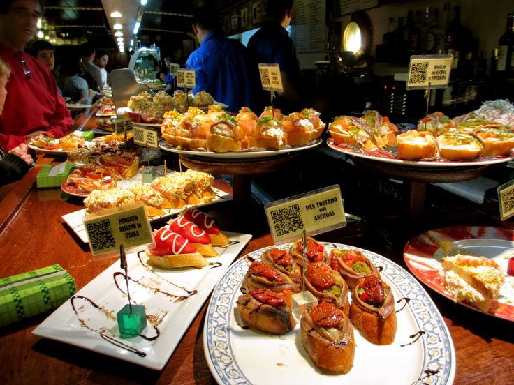 Pintxos bar in San Sebastian, Spain