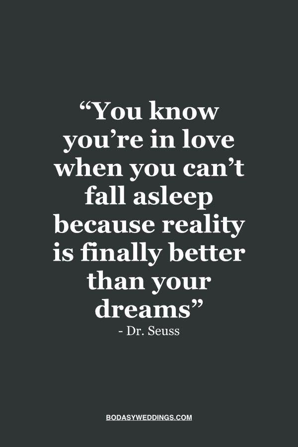 Sabes que estas enamorado cuando no puedes dormir porque finalmente la realidad es mejor que tus sueño