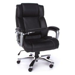 Big and Tall Tablet Arm Computer Chair // When technology and office furniture meet // Use you tablet easily with this office chair