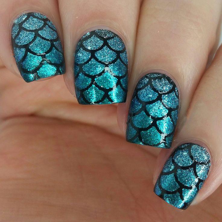 nail art sereia                                                                                                                                                                                 Mais
