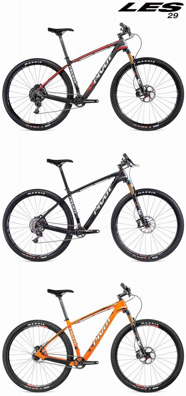 Pivot LES Carbon 2015: Versiones de 27.5 y 29 pulgadas para la máquina más rodadora de Pivot Cycles | TodoMountainBike