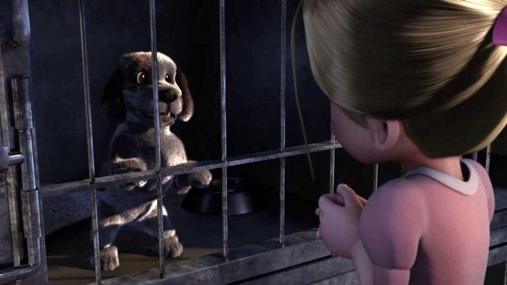 MovieTalk - la perrera, la jaula, quiere que lo adopte, quiere adoptar, finge…