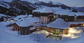 Ski resort Valmorel in France