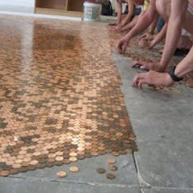 shiny penny floor so cool my future home pinterest