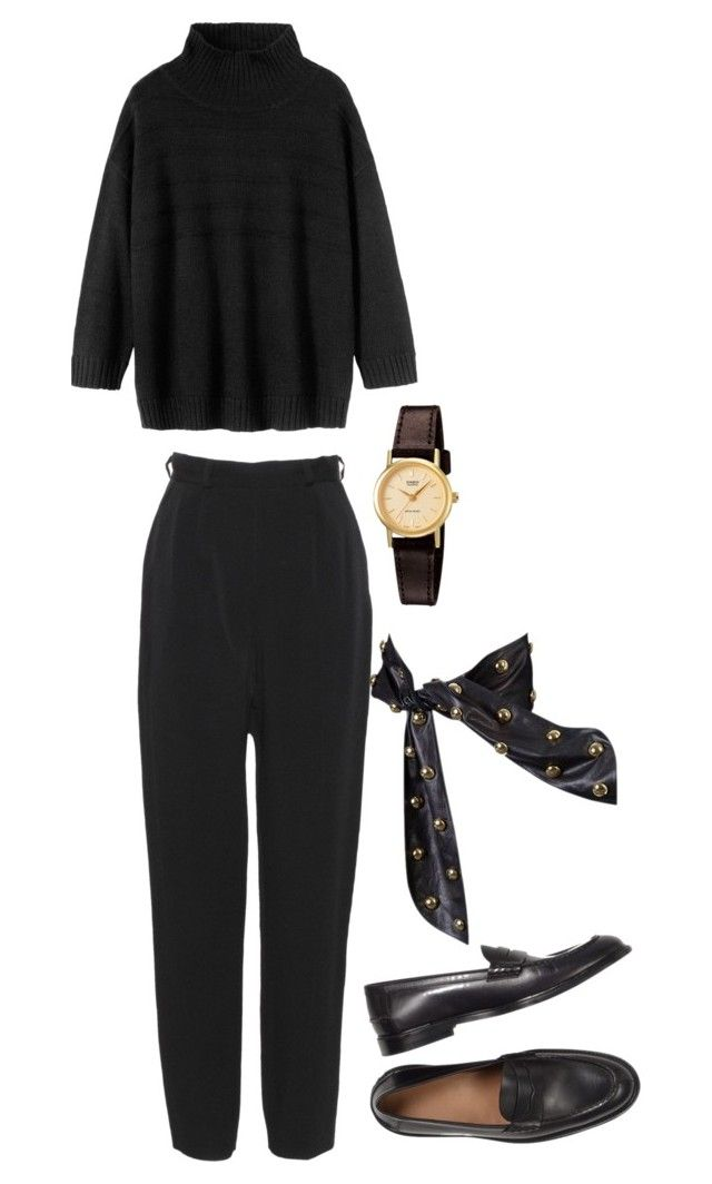 """Untitled #647"" by szudi on Polyvore featuring Jasper Conran, Toast, Yves Saint Laurent and Casio"