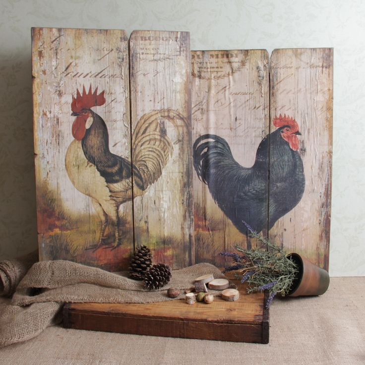 Rooster Kitchen Decor French Country: 524 Best Images About Barn Board Ideas On Pinterest