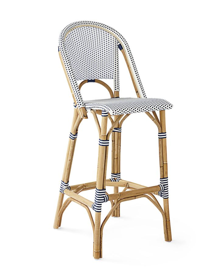Amazing The classic s European bistro chair reinterpreted and elevated to new heights Handcrafted of lightweight rattan and woven plastic seats