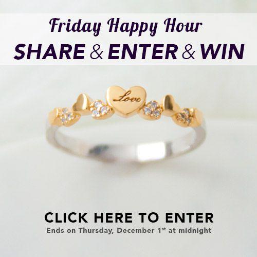 Friday Happy Hour Giveaway <3 http://woobox.com/nimjjg/i7cu79 #win