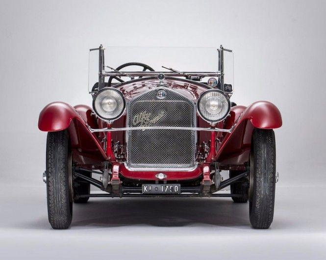 L'Alfa Romeo 6C 1750 Gran Sport, carrozzata nel 1931 da Zagato