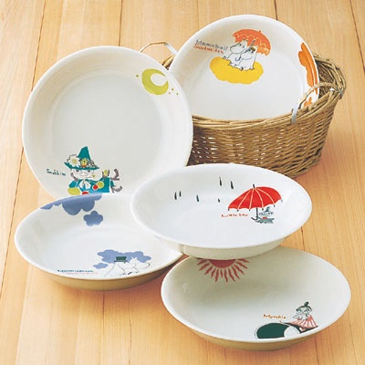Moomin plates