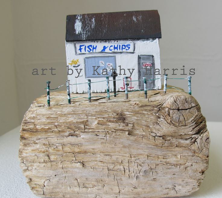 Driftwood pier fish and chip shop