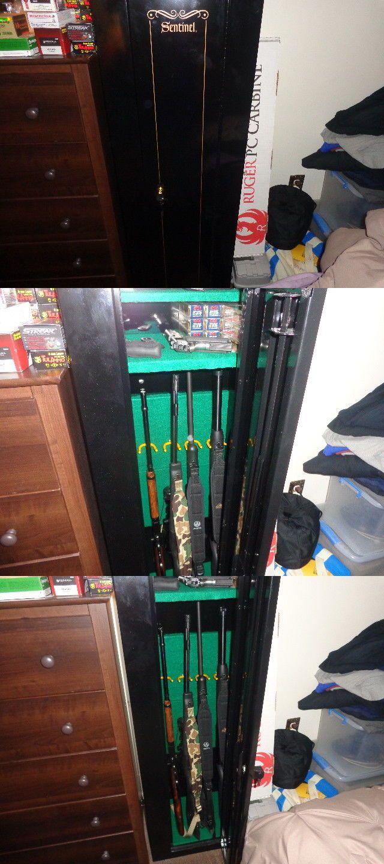 Gun Safe Disguise Concealment Cloak Hidden American Security Wooden Cabinet 7240