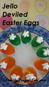 """Kids love these """"deviled"""" Easter Eggs and they're super easy and fun to make!"""