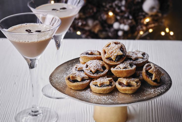Mini mince pies with Baileys Original Irish Cream