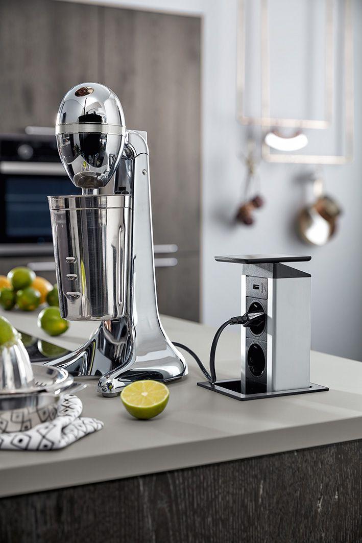 25+ ide terbaik Steckdosen küche di Pinterest | Versenkbare ... | {Wandanschlussprofil küche 53}