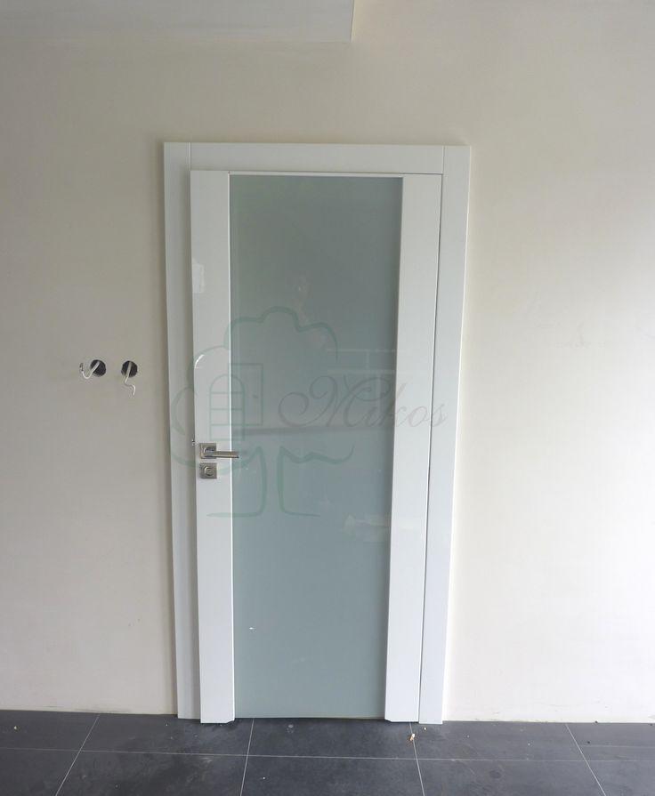 Nowoczesne drzwi wewnętrzne białe