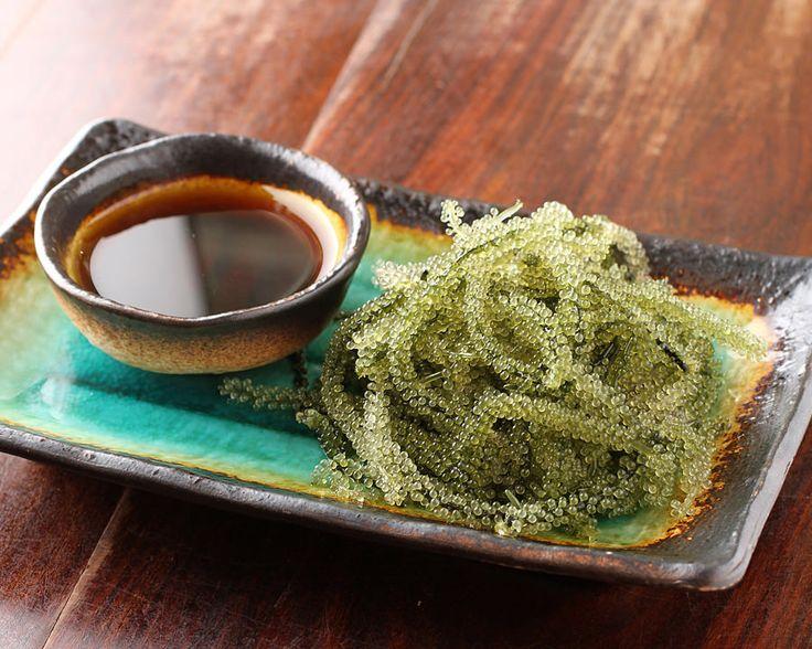 umi budo (sea grapes) 海ぶどう
