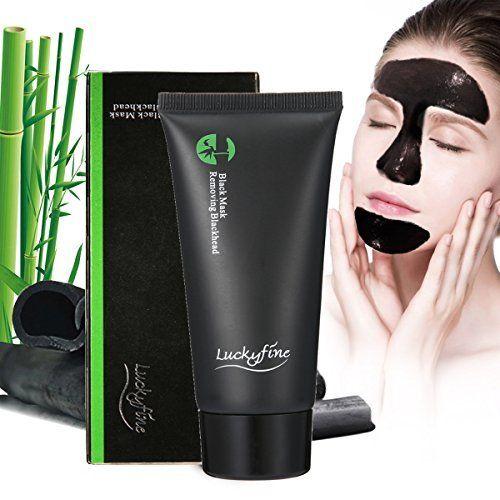 Masque Point Noir LuckyFine Masque Noir Blackhead Remover Masque Peel off Pore Nettoyage en Profondeur l'acné Comédons Décapant avec…