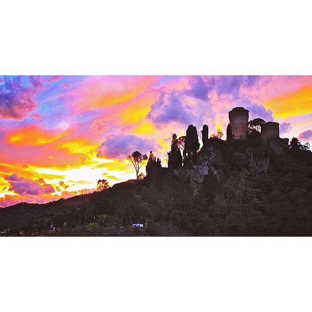 #brisighella #wonderful #sky #emiliaromagna #italy
