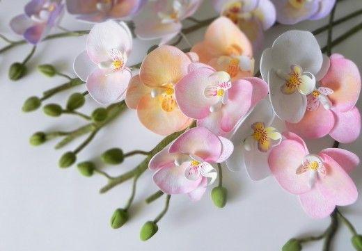 Орхидея из фоамирана | Страна Мастеров