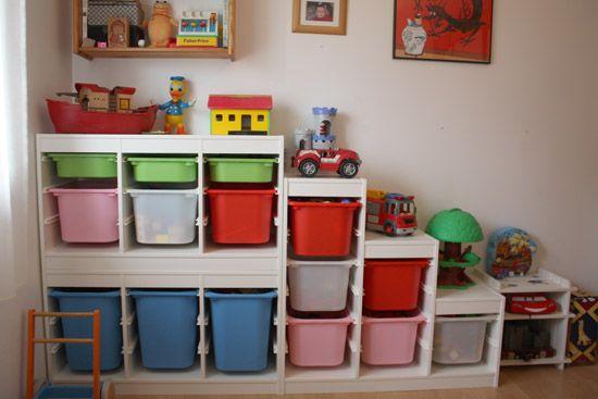 Bye bye bazarland ! - rangement jouets enfants - Trofast Ikea | Merci pour le chocolat !