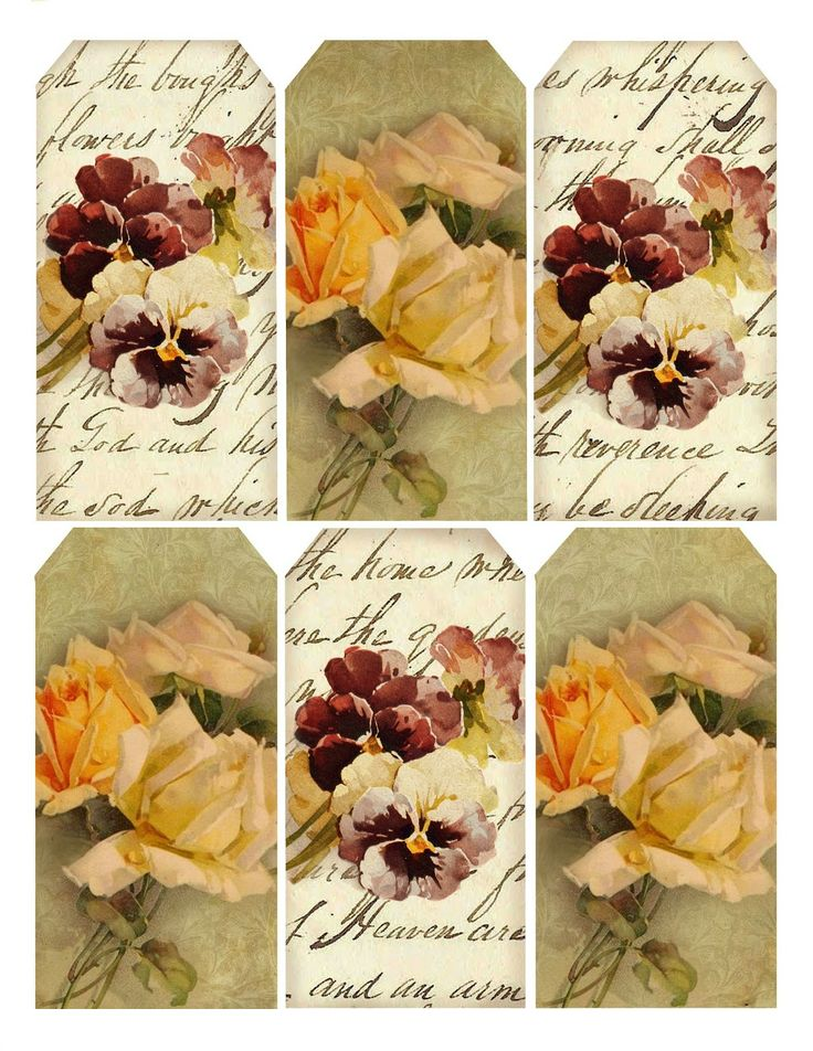 Autumn's Crowning Glory ~ printable set of gift tags