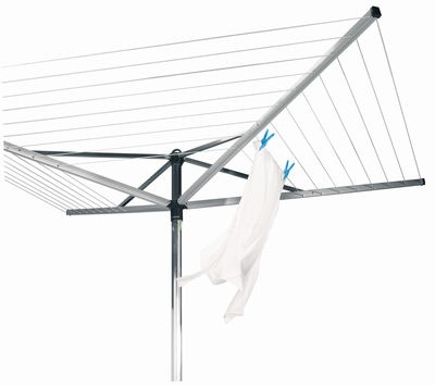 Brabantia Rotary Airer Top Spinner 40m- is ideal if you want a quality solution to drying laundry outside.