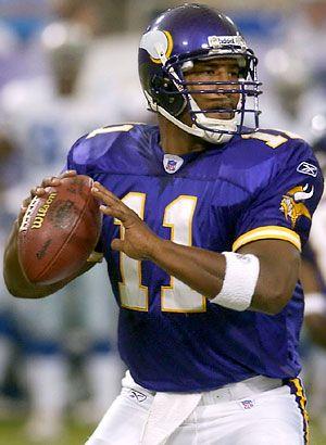 Daunte Culpepper!  #11 overall pick in 1999 NFL draft!!