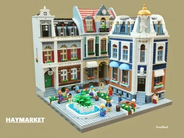 lego green city building instructions