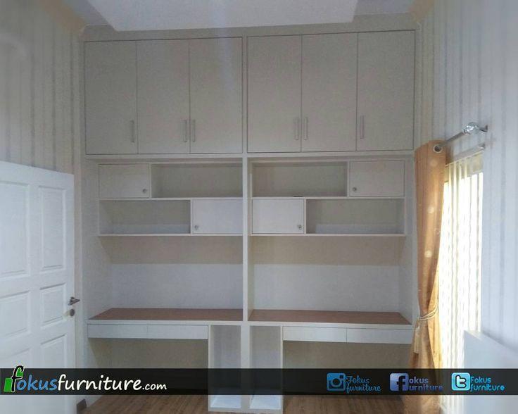"53 Suka, 1 Komentar - Furniture custom minimalis (@fokusfurniture) di Instagram: ""Bedroom set di Puri gardena Cengkareng  #Bedroomset #kamarset #furniture  #home  #interior…"""