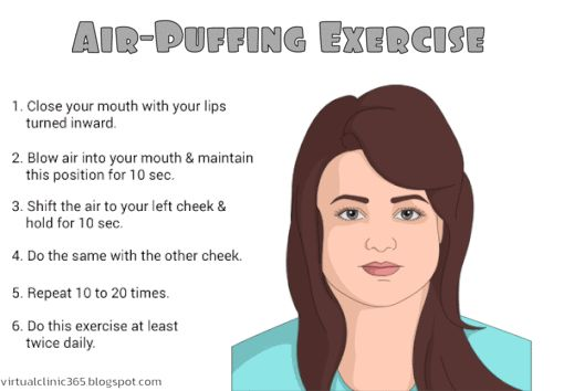 Air-Puffing Exercise