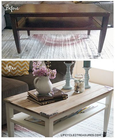on't you just love how a little bit of imagination and elbow grease can transform a piece of furniture to make it fit your style?! It amazes...