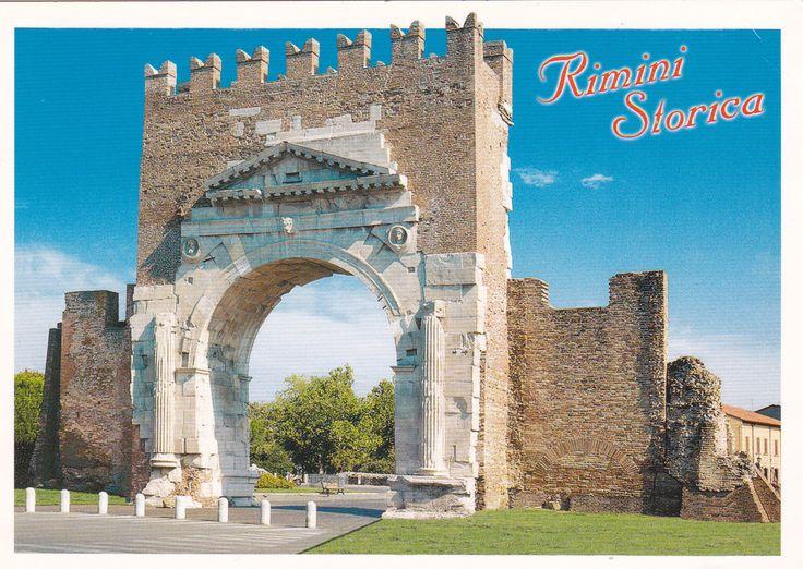 Rimini (Italy) - Postcard