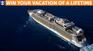 Plan your Vacation of a Lifetime from #RoyalCaribbean. Enter for your chance to win. Ends 4/7/2013.