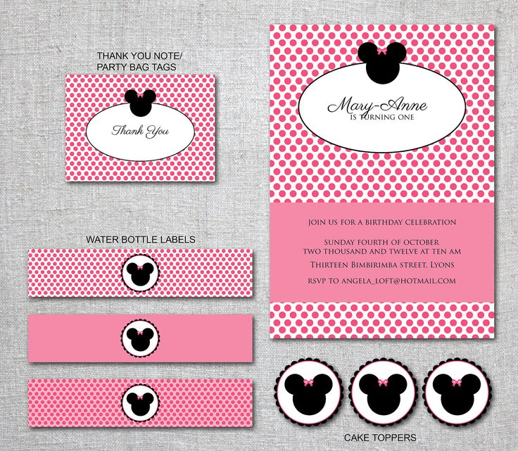 237 best printables images on pinterest | birthday party ideas, Birthday invitations