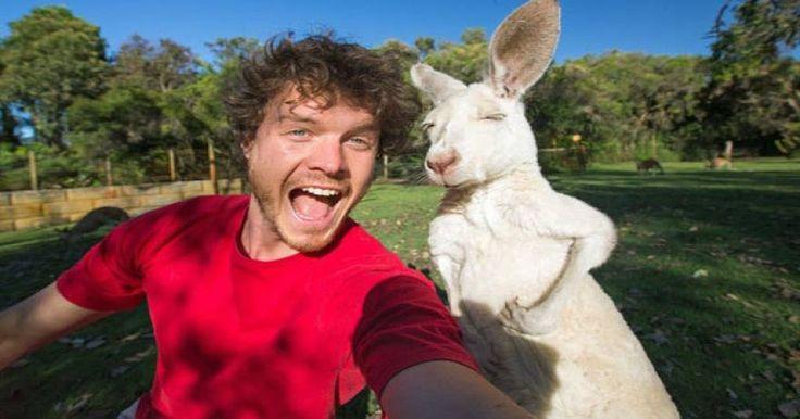 Ταξίδια στο κόσμο για selfies με...ζώα! (φωτό)