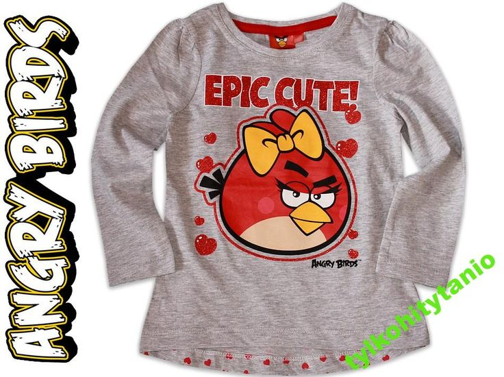 ANGRY BIRDS epic 6 lat serca hm NOWA 116 cm