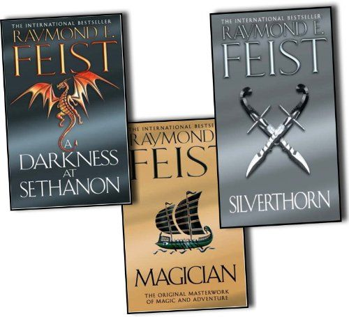 Raymond E. Feist Riftwar Saga 3 Books Collection Set Pack (Magician, A Darkness at Sethanon, Silverthorn) NEW by Raymond E. Feist http://www.amazon.com/dp/B0089VY4MC/ref=cm_sw_r_pi_dp_ARSeub12QPS2H