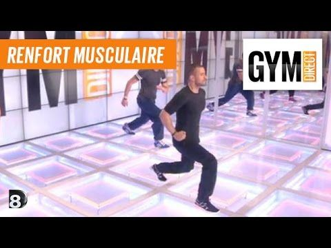 Cuisses et fessiers : Renfort musculaire intense - 110 - YouTube