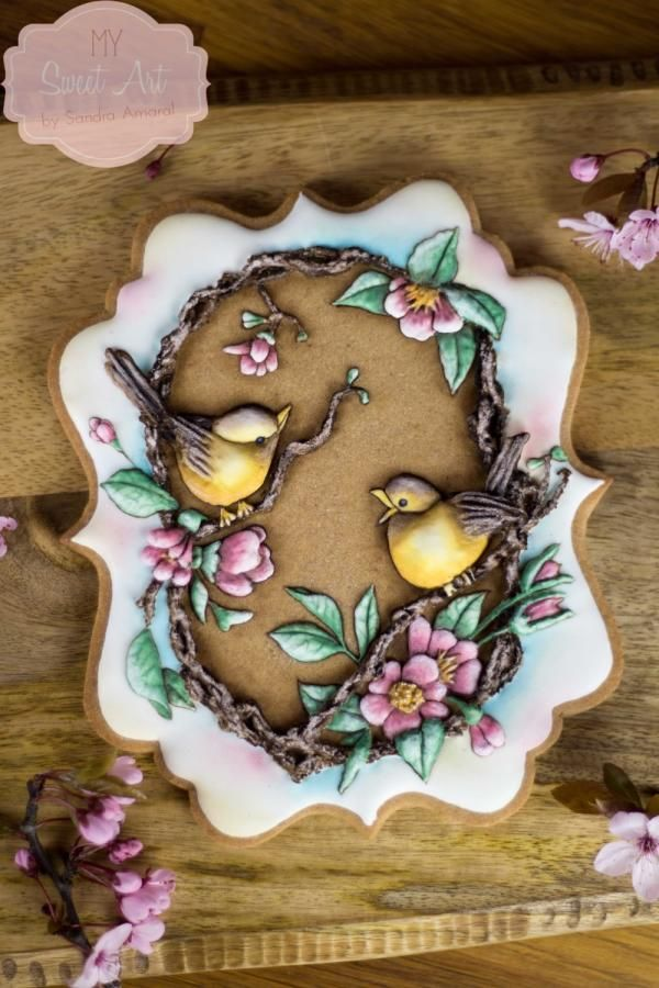 Spring Love Cookie by My Sweet Art