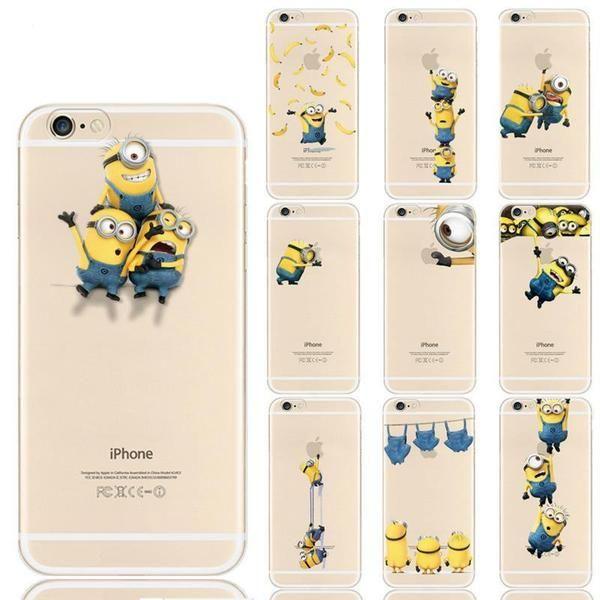 coque silicone minion iphone 6s | Apple phone case, Minion phone ...