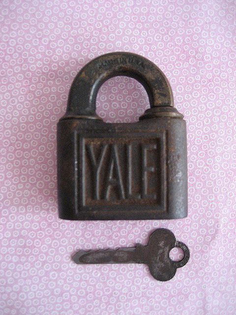 Vintage Antique Yale Lock Key Yale Amp Towne Mfc Co Made In