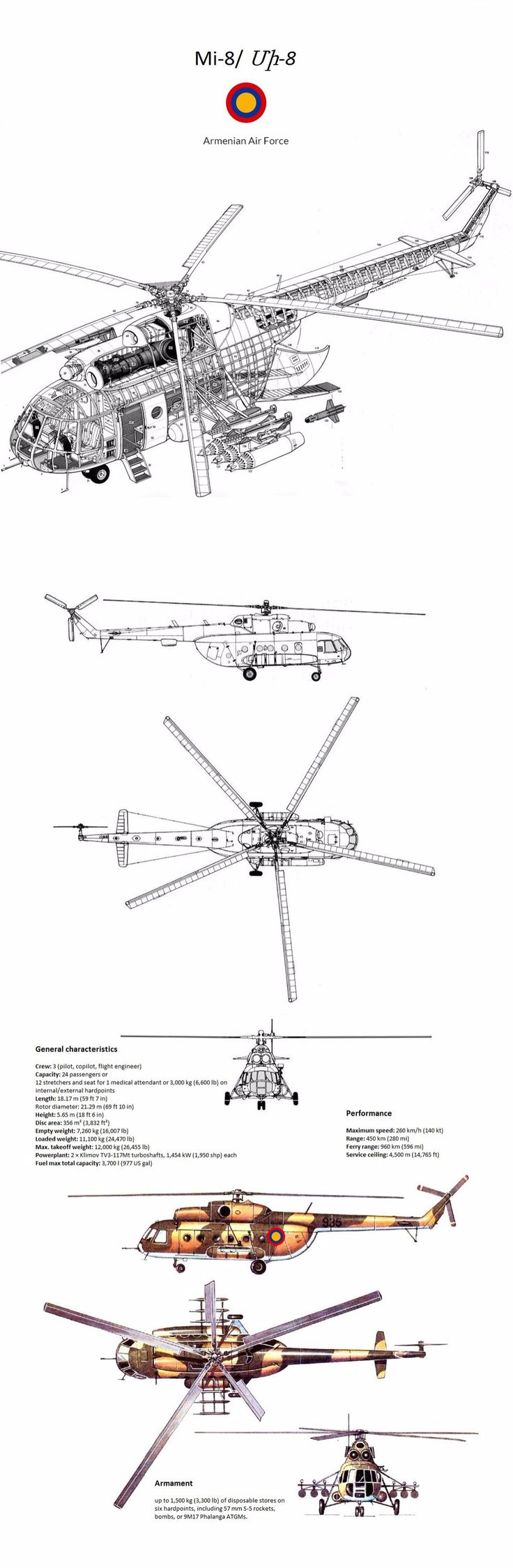 Armenian Air Force Mi-8 by Armynia.deviantart.com on @DeviantArt
