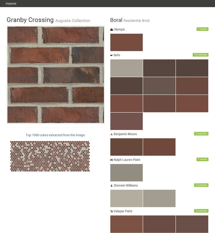 23 best brick patterns images on pinterest homes home and front walkway - Breathable exterior masonry paint collection ...