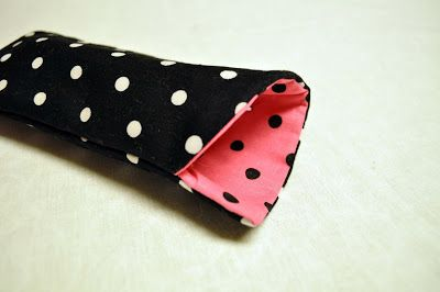 DIY sunglasses / eyeglasses case tutorial