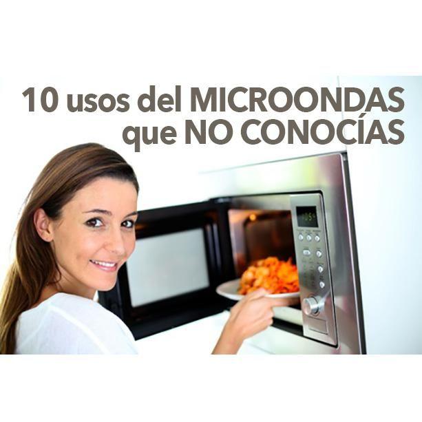 Os contamos 10 usos del microondas que no conocías y que te serán muy útiles en la cocina.